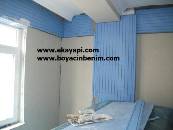 Tavan duvar kağıdı tutkal nasıl